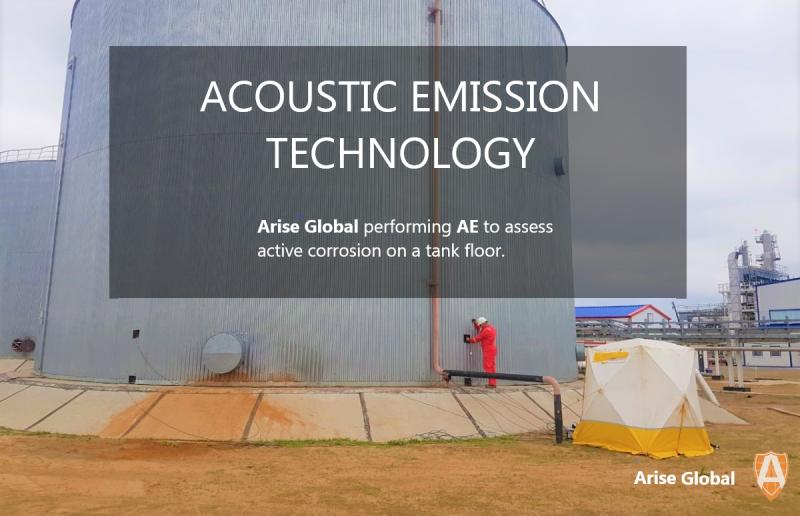 tank inspection using acoustic emission