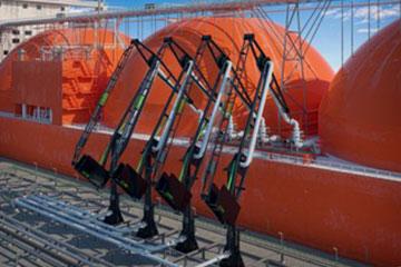 photo of marine loading generator