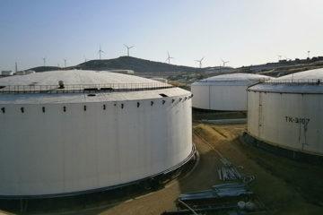 acoustic emission inspection on storage tanks