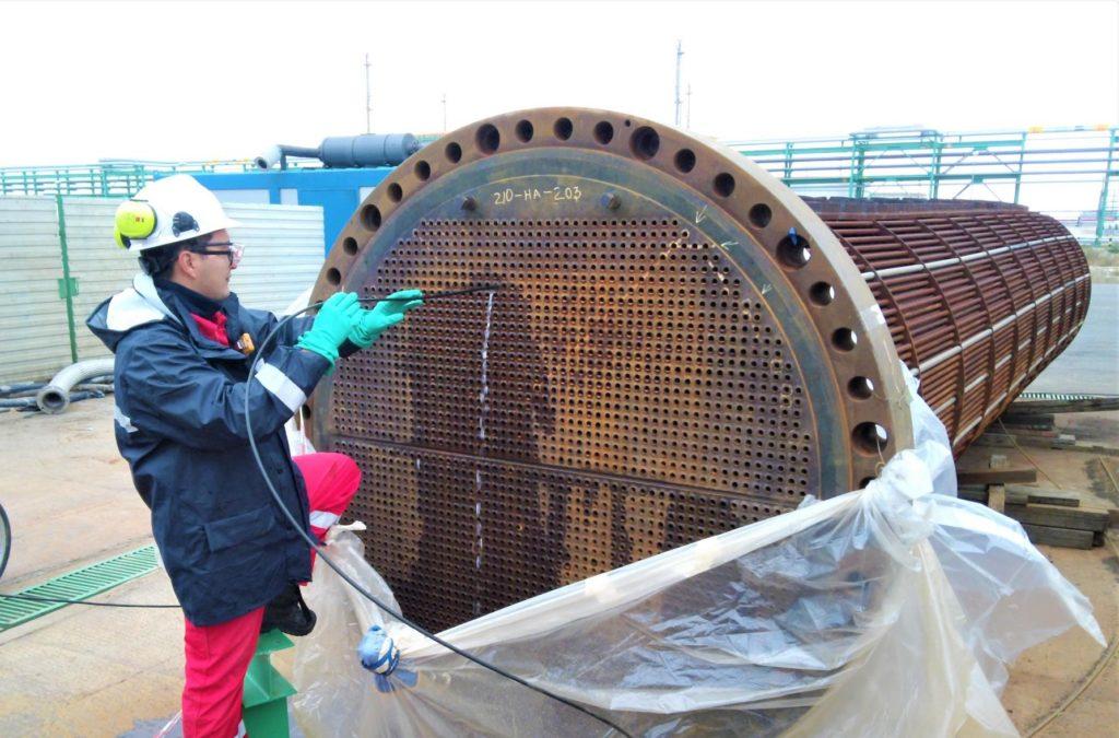 heat exchanger tube inspection