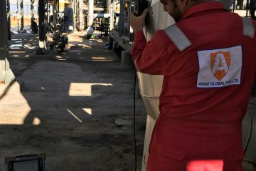 Arise Egypt performed Pulsed Eddy Current inspection on insulated pipes at one of the biggest oil & gas plants in Egypt.