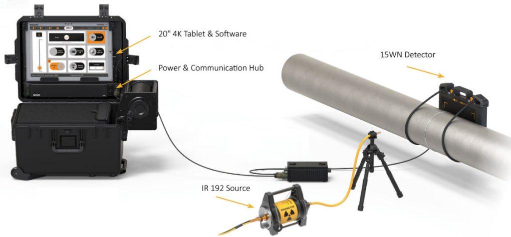 Digital Radiography setup
